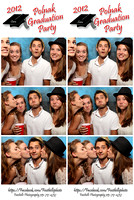Polnak Graduation Party Photo booth pics